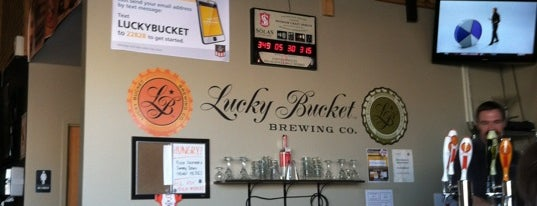 Tasting Room - Lucky Bucket Brewery & Cut Spike Distillery is one of Omaha.