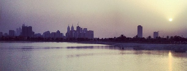 Al Barsha Pond Park is one of Gust's World Spots.