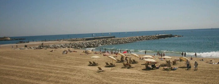 Praia da Barceloneta is one of Playas de Barcelona.