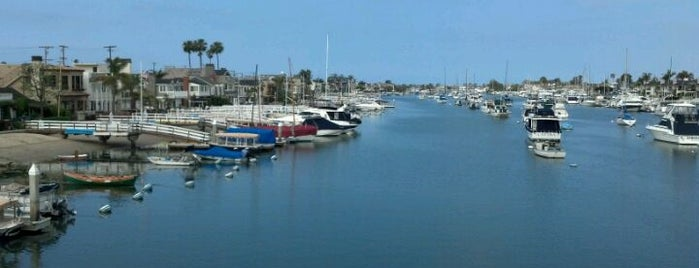 Balboa Island Bridge is one of Cali.