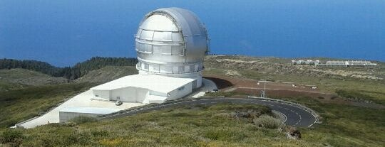 Gran Telescopio de Canarias is one of La Palma, Spain.