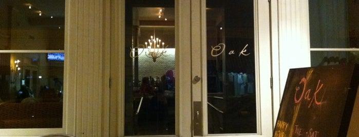 Oak Wine Bar is one of Kelly : понравившиеся места.