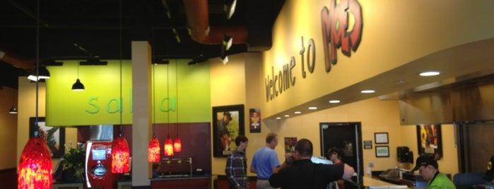 Moe's Southwest Grill is one of สถานที่ที่ Megan ถูกใจ.