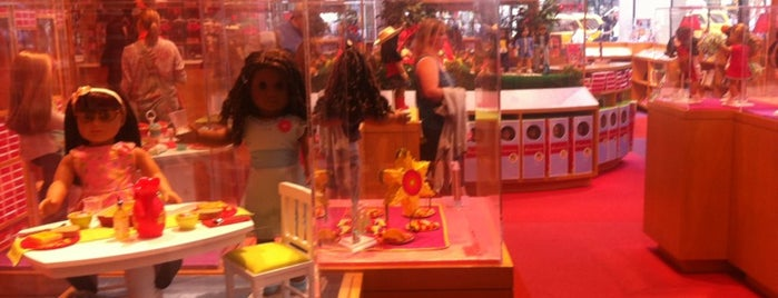 American Girl Place is one of NY.