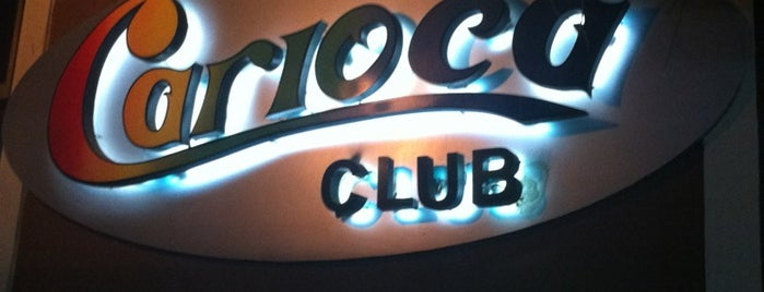 Carioca Club is one of places.