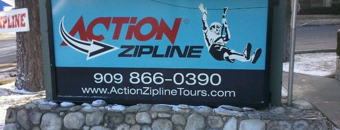 Action Zipline Tours is one of Big Bear Lake (Anti-Zombie Survival).