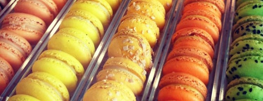Faubourg Bistro is one of I Love Macarons.