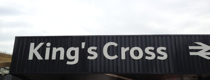 London King's Cross Railway Station (KGX) is one of You calling me a train spotter?.
