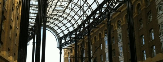 Hay's Galleria is one of Tired of London, Tired of Life (Jan-Jun).