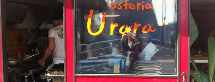 Osteria Urara is one of Topics for Restaurant & Bar ⑤.