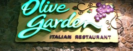 Olive Garden is one of Orte, die Frankie gefallen.