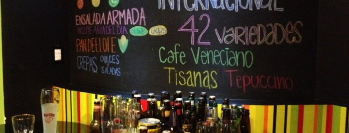 Ensalada Lounge is one of Vegetariano y opciones sin carne.