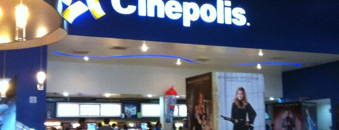 Cinépolis is one of Lugares favoritos de Ismael.