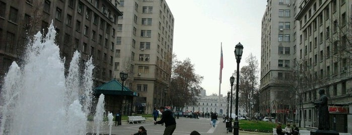 Paseo Bulnes is one of Santiago no es Gris!.