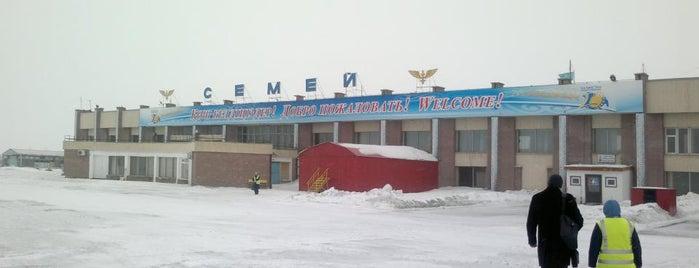Semey Airport (PLX) is one of สถานที่ที่บันทึกไว้ของ JRA.