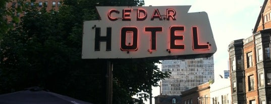 Cedar Hotel is one of Outdoor Patio.