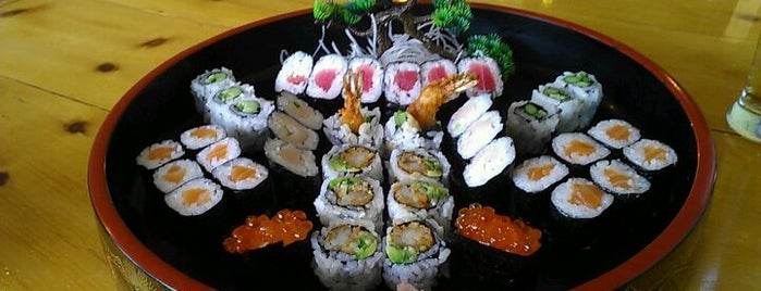 Jako Sushi is one of Best Kept Secrets.