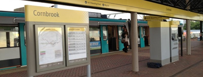 Cornbrook Metrolink Station is one of UK.