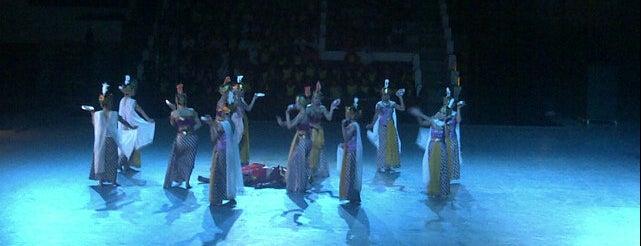 Taman Ramayana Ballet Prambanan is one of Java / Indonesien.