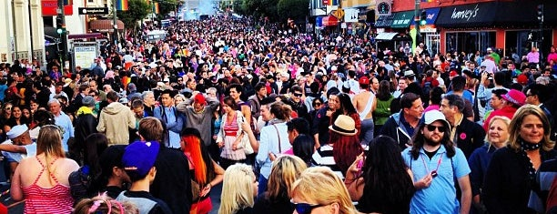Pink Saturday Street Party! is one of to-do in sf.