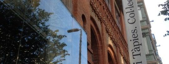 Fundació Antoni Tàpies is one of Barcelona.