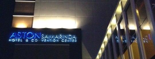 Aston Samarinda Hotel and Convention Center is one of Lugares favoritos de Anja Astria.