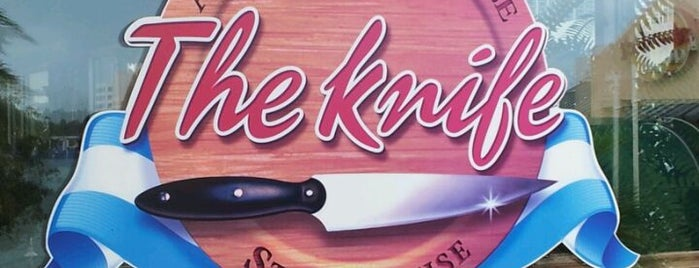 The Knife Steakhouse is one of Kutlukan 님이 좋아한 장소.
