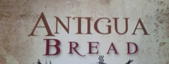 Antigua Bread is one of Lieux qui ont plu à Alberto J S.