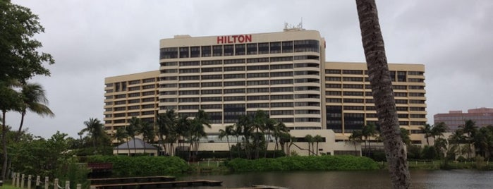 Hilton Miami Airport is one of Orte, die Darren gefallen.