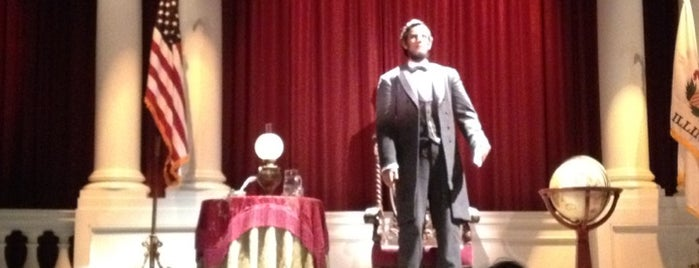 The Disneyland Story presenting Great Moments with Mr. Lincoln is one of a very strange and delightful day in disneyland.