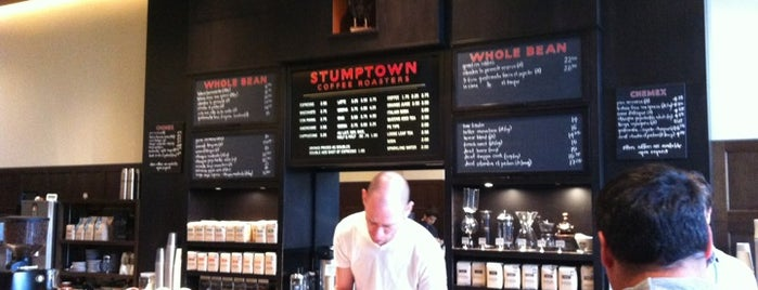 Stumptown Coffee Roasters is one of Portlandia.