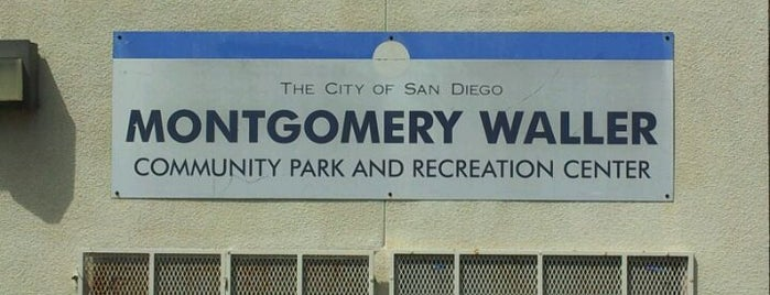 Montgomery-Waller Community Park & Recreation Center is one of California.