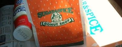 Sugar & Spice Donut Shop is one of Posti salvati di Christopher.
