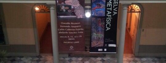 Centro Cultural Inca Garcilaso is one of Bienal de Fotografia de Lima.