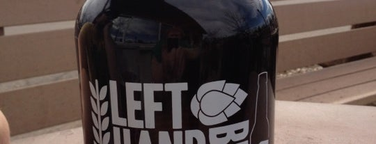 Left Hand Brewing Company is one of Best US Breweries--Brewery Bucket List.