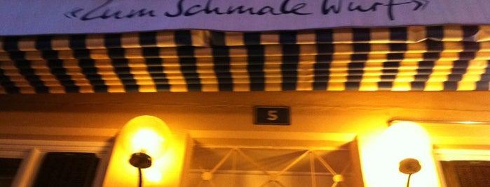 "Restaurant ""Zum Schmale Wurf"" is one of Tempat yang Disimpan Markus."