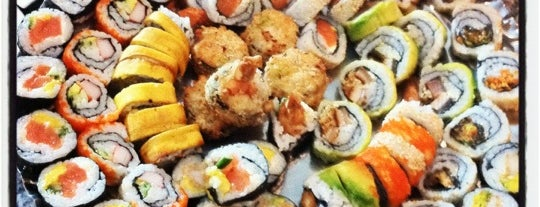 Hanashi Sushi Bar is one of Colombia.