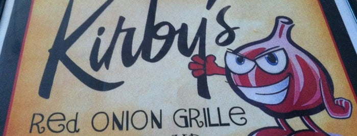 Kirby's Red Onion Grille is one of Orte, die Ishka gefallen.