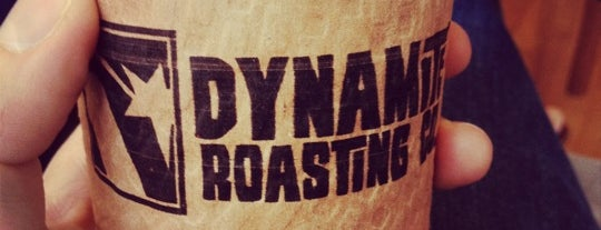 Dynamite Roasting Co. is one of Black Mountain.