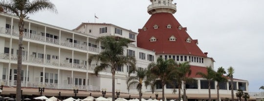 Coronado Beach Resort is one of SD.