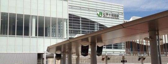 七戸十和田駅 is one of JR 키타토호쿠지방역 (JR 北東北地方の駅).