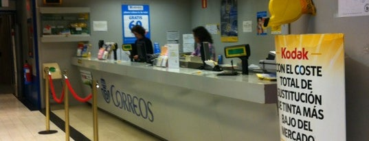 Oficina Correos is one of Madrid.