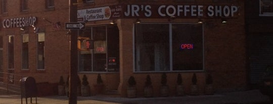 J.R. Coffee Shop is one of Lugares guardados de Christian.