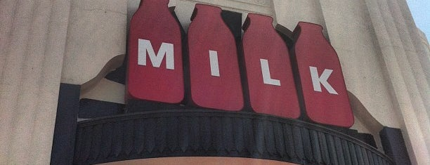 Milk is one of Los Angeles.