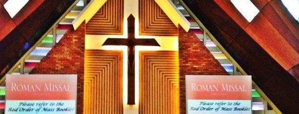 Church Of The Blessed Sacrament is one of Cheap N Good'un Kaydettiği Mekanlar.