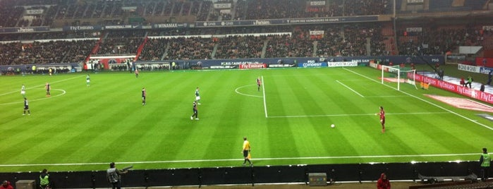 Parc des Princes is one of The Great Football Pilgrimage.