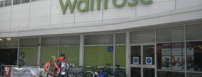 Waitrose & Partners is one of Locais curtidos por Natalie.