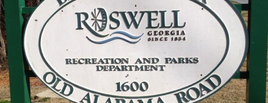 Big Creek Park is one of Visit Roswell, GA.