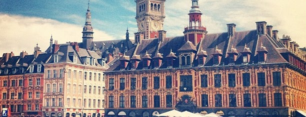 Place du Général de Gaulle - Grand'Place is one of Lille.