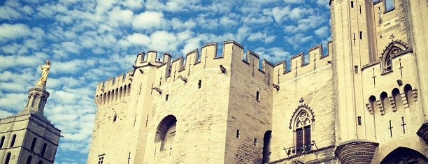 Place du Palais des Papes is one of Avignon, France.